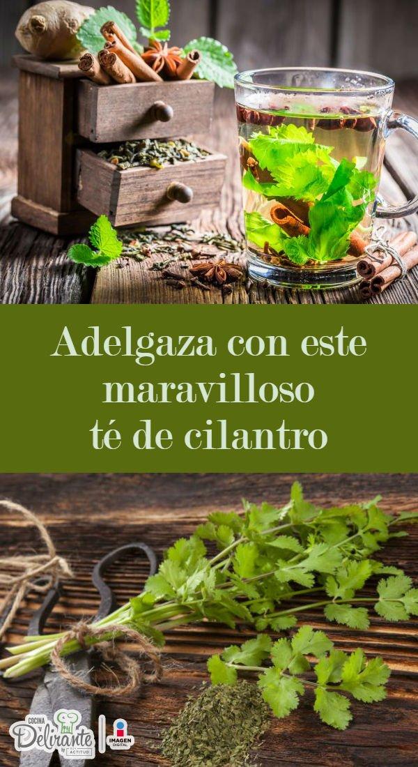 las semillas de cilantro sirve para adelgazar