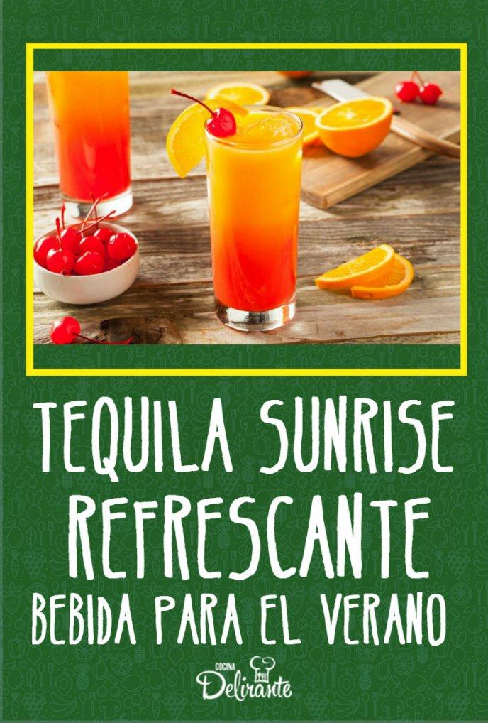 Tequila Sunrise Receta De Cocina Delirante